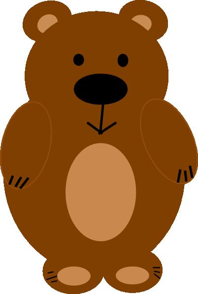 Brown Bear Clip Art at Clker.com - vector clip art online ...