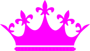 pink crown clip art at clker com vector clip art online royalty rh clker com pink and gold crown clip art pink princess crown clipart