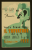 Wpa In Ohio Federal Music Project Presents Verdi S Grand Opera  Il Trovatore  Cast Of 75 : Rudolph Schueller Director. Clip Art