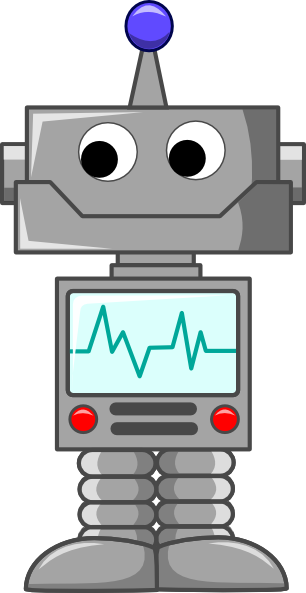 Cartoon Robot Clip Art