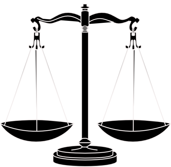 legal scales clipart - photo #50