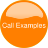 Orange Button Protocol Clip Art