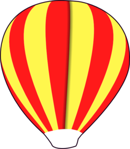 Hot Air Balloon Shape Clip Art