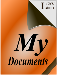 My Documents Icon Clip Art