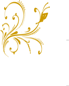 Gold design clipart