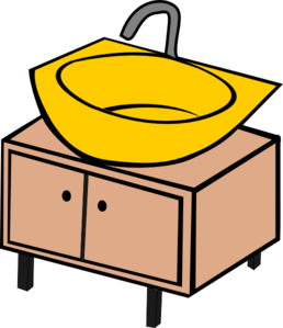 Washing Bowl Clip Art
