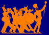 Carson Marching Band Icon Clip Art