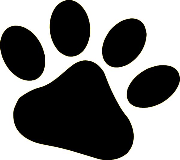 Black Pet Paw Clip Art at Clker.com - vector clip art ...
