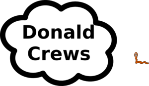 Donald Crews Sign Clip Art