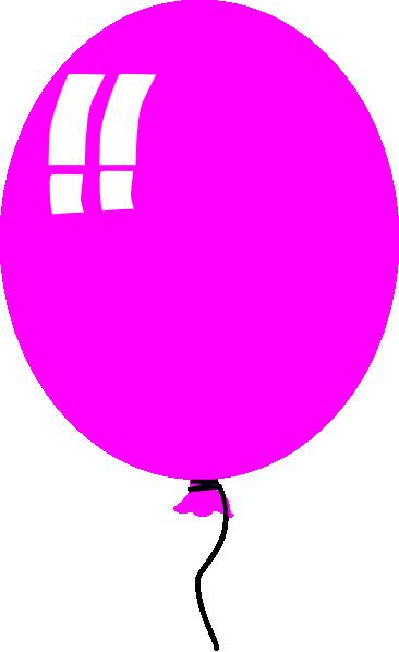 Purple Balloon 2 Clip Art at Clker.com - vector clip art ...