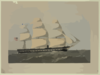 U.s. Steam Frigate  Wabash   / From A Painting By Wm. N. Maull, U.s.n. ; Lith. Of Shearman & Hart, 99 Fulton St. N.y. Clip Art