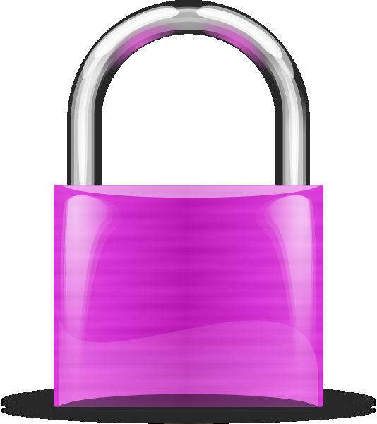 black-lock-clip-art