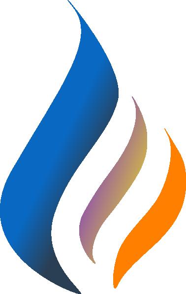 Blue Flame Solid Color Clip Art at Clker.com - vector clip ...  Blue Flames Clip Art