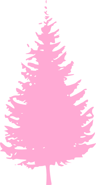 Soft Pink Tree Clip Art At Clker Com Vector Clip Art Online