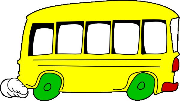 yellow bus clipart -#main