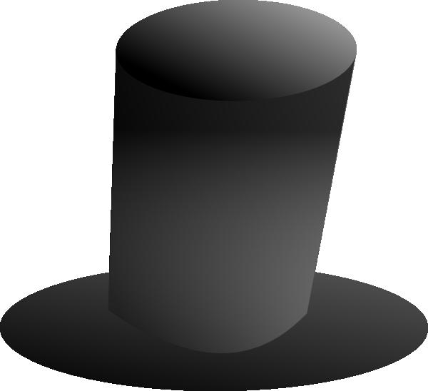 Tall Top Hat Clip Art At Clker Com Vector Clip Art Online Royalty