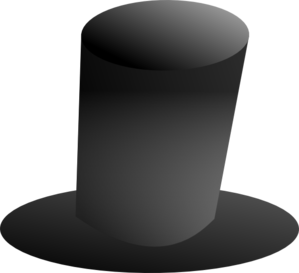 Tall Top Hat Clip Art