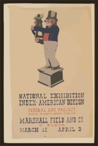 National Exhibition  Index Of American Design  Clip Art