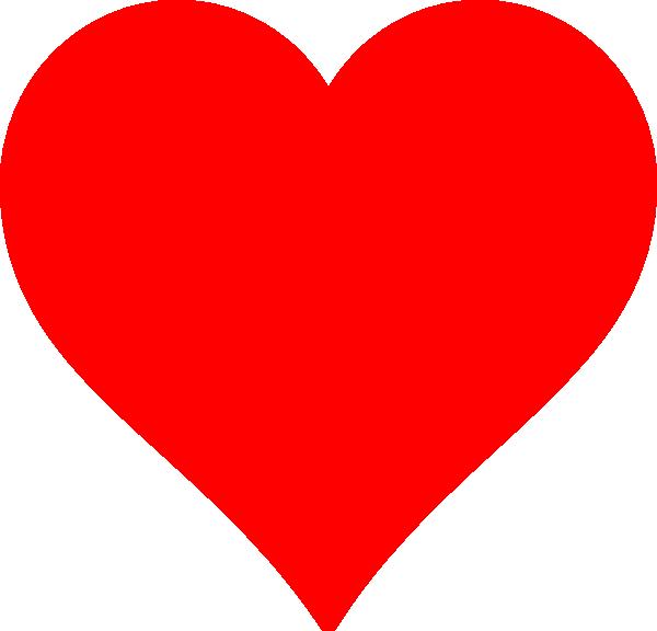 Red Heart Clip Art At Clker Com Vector Clip Art Online