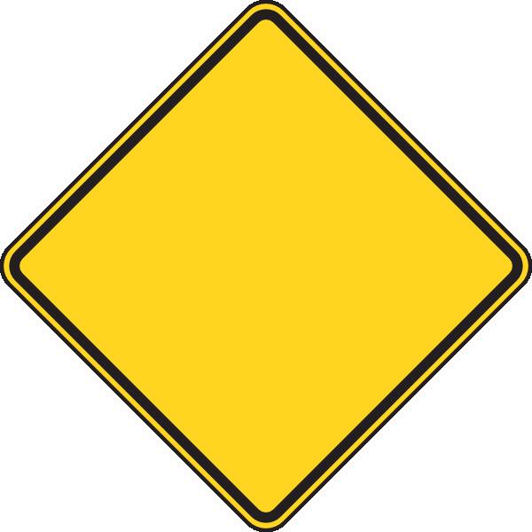 blank caution sign - photo #13