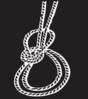 White Rope On Grey Clip Art