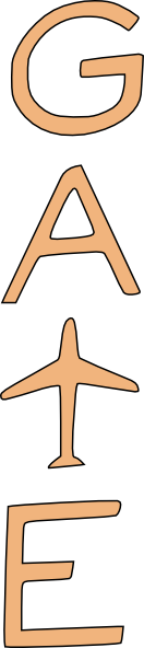 airport gate clipart - photo #1