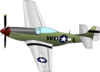 Plane With Propeller Clip Art