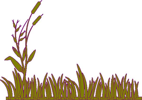 Green Grass With Willow Clip Art at Clker.com - vector clip art ...