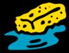 Sponge In Water Clip Art