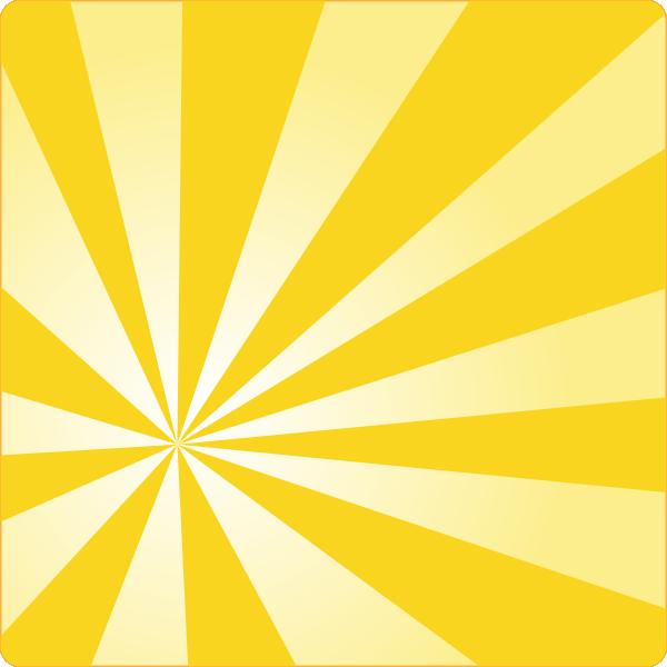 yellow rays vector-#2