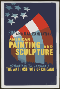 51st Annual Exhibition - American Painting And Sculpture Clip Art