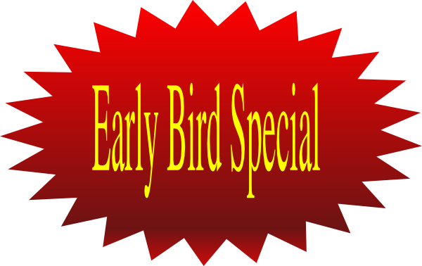 Early Bird Special Clip Art at Clker.com - vector clip art online ...