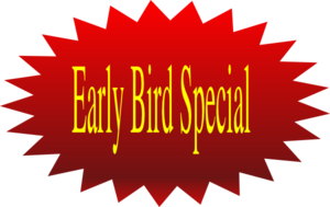 Early Bird Special Clip Art