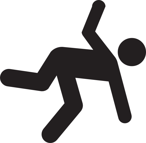 slip and fall clip art free - photo #8