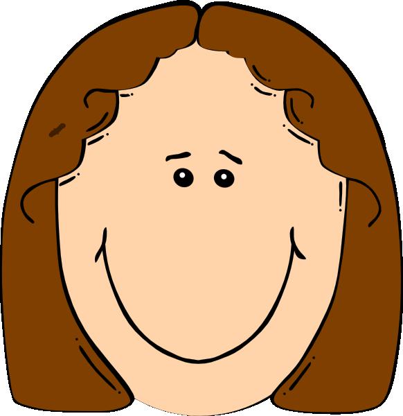 Happy Girl 2 clip artHappy Girl Face Clip Art