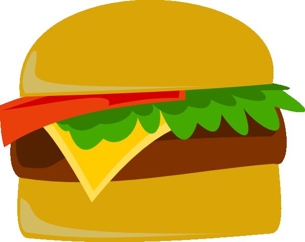 Burger clip clip art at vector clip art online for Hamburger clipart