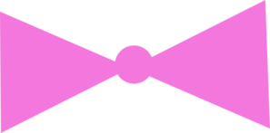 Pink Bow Clip Art
