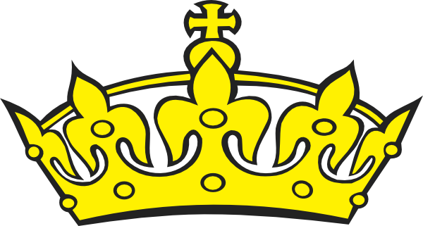 crown 2 clip art at clker com vector clip art online royalty free rh clker com king crown clipart silhouette king crown clipart black and white
