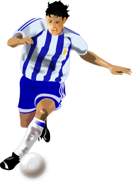 football player clipart images - photo #27