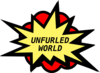 Unfurled World 2 Clip Art
