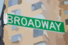 Broadway Street Sign Clip Art