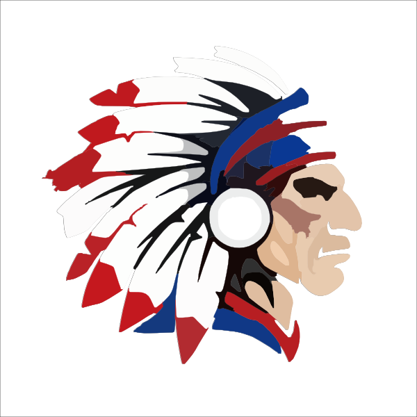 indian head outline clip art at clker com vector clip art online rh clker com indian head clipart black and white indian chief head clipart