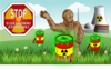 Nuclear Power Landscape Clip Art