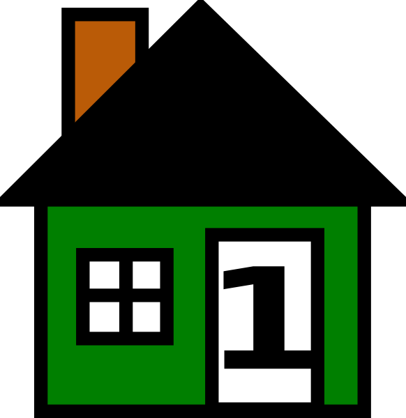 house number clip art - photo #2