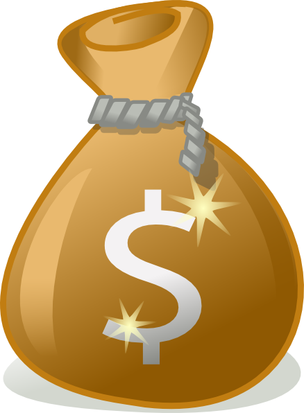 Money Bag Clip Art at Clker.com - vector clip art online ...