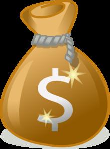 money bag clip art at clker com vector clip art online royalty rh clker com empty money bag clipart money bag clipart png