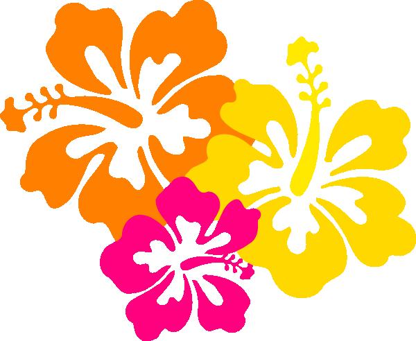 hibiscus flowers 4 5 clip art at clker com vector clip art online rh clker com hibiscus flower clipart vector pink hibiscus flower clipart