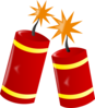 Chinese Fireworks Clip Art at Clker.com - vector clip art ...