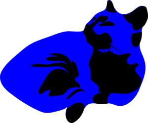 Cool Cat Blues Clip Art