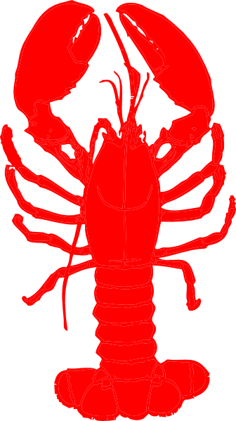 funny lobster clipart - photo #25